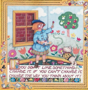 Mary Engelbreit Attitude Print
