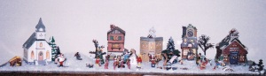 Christmas Village, early