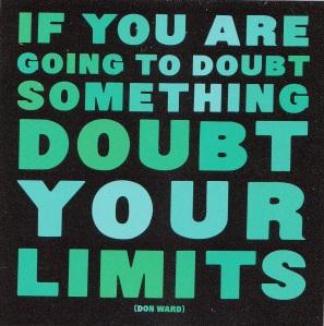 doubt limits