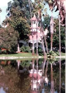 Queen Anne Cottage Reflection