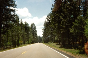 drive to north rim