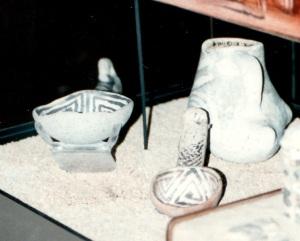 pots in museum