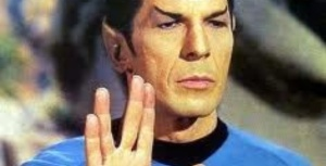"""Spock """"LIve Long & Prosper"""""""