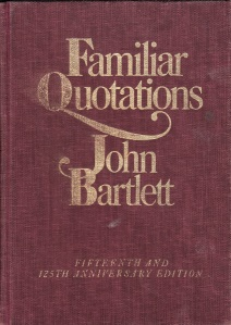 bartlett's 15th