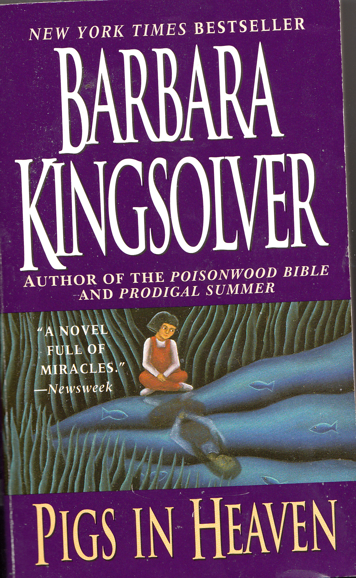 barbara kingsolver her life her work her words learn more  pigs in heaven