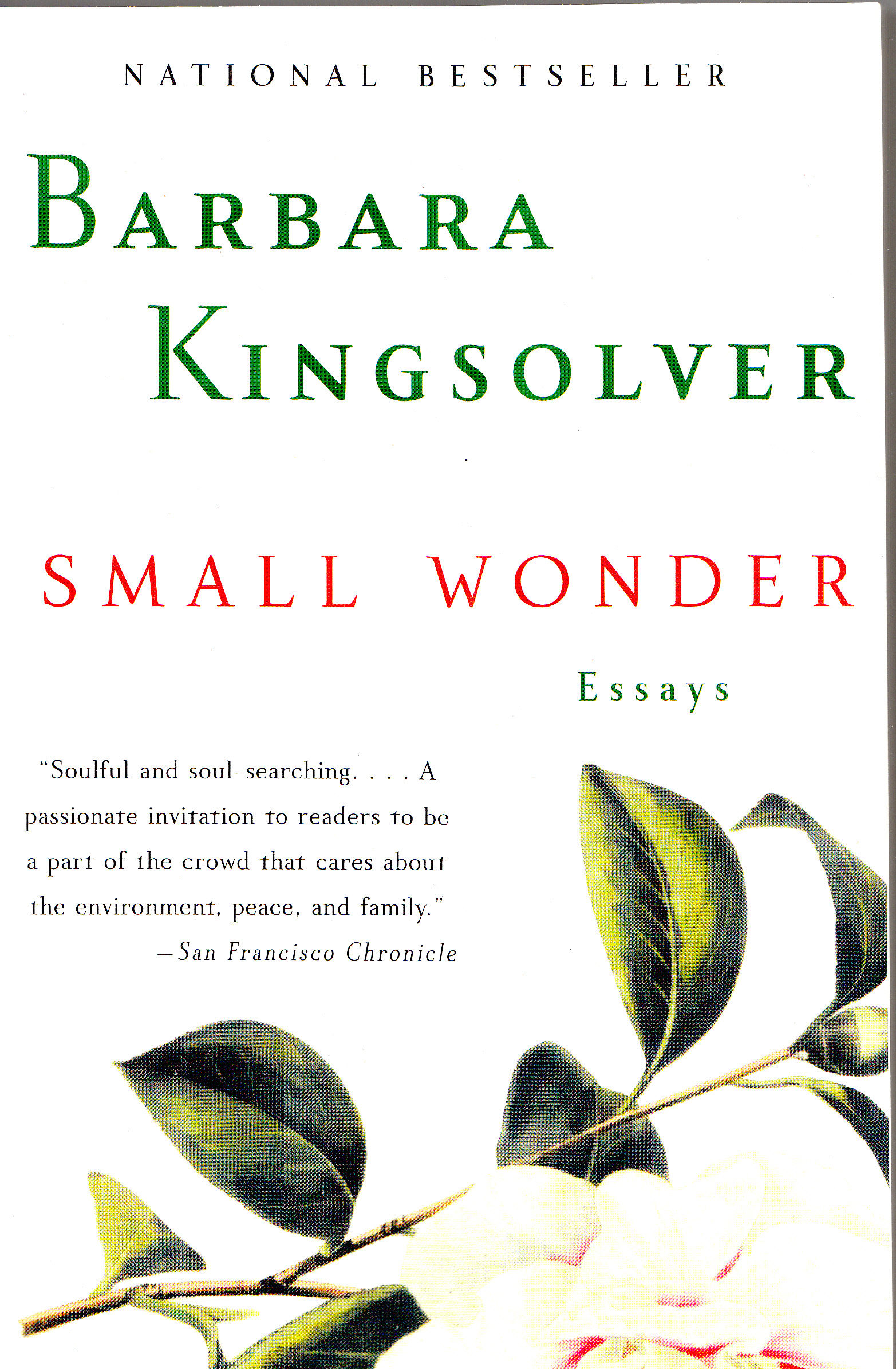 barbara kingsolver her life her work her words learn more small wonder