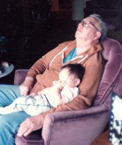 Grandpa  Babysitting