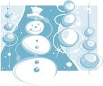 snowmen clipart