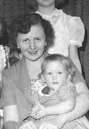 me and mom about 1957