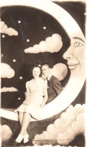 Presumed Postcard Honeymoon Souvenir