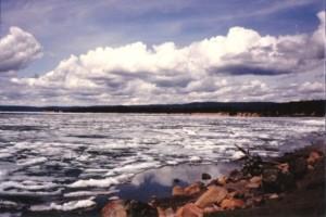 Mary's Lake Yellowstone