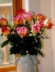 roses in vase 2