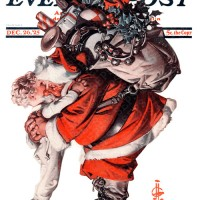 One of Rockwell's Views of Santa