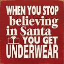 santa underwear