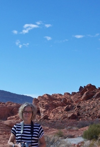 Barbara at Valley of Fire