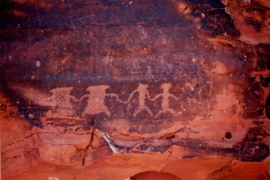 petroglyphs close