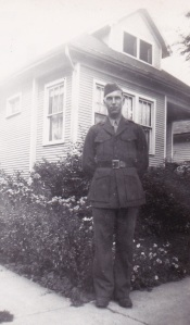 Dad in Uniform WWII