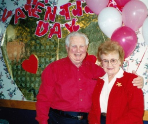 Mom & Dad Valentine's Day 2000