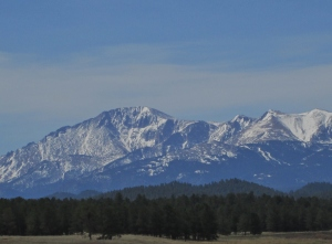 View of Pike's Peak