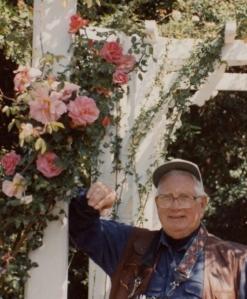 dad at rose arbor