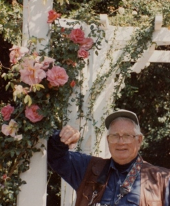 dad at rose arbor