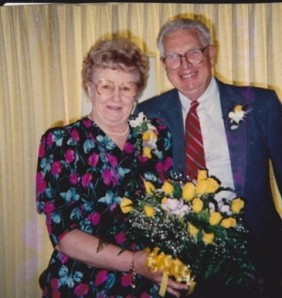 mom and dad yellow bouquet