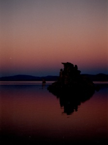 Mono sunset deep colors