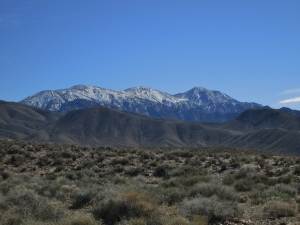 Telescope Peak Seen from Charcoal Kilns