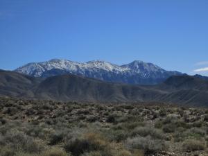 Telescope Peak Seen from Charcoal Kilns