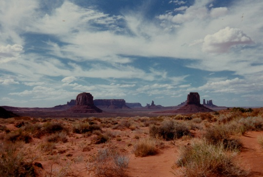 Monument Valley: Iconic Western Locale But No Saguaro Cactus