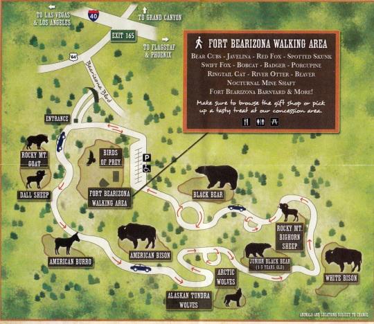 3-mile loop map