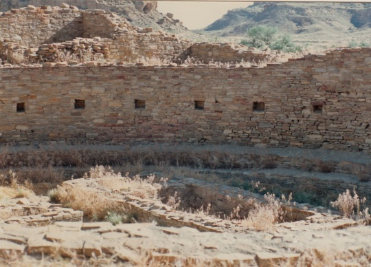 Part of the Pueblo Bonito Kiva
