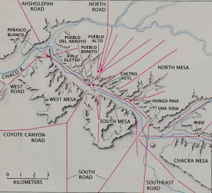 chaco pueblo bonito map booklet