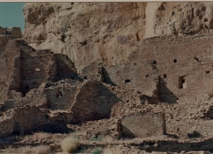 chaco pueblo bonito several rooms