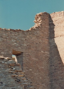 chaco pueblo bonito side window