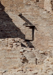 chaco pueblo bonito window detail