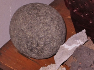Smooth Round River Rock, Size of a Baseball