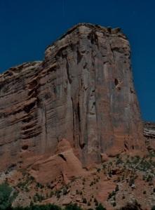 north canyon near david's parents hogan