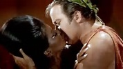 Kirk & Uhura Kiss, Stock Photo