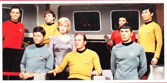 The Original Crew, The Star Trek Compendium Cover