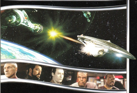 Crew & Ship from Next Generations Movie CD Set Packaging
