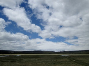 Open Space & Clouds, Yellowstone