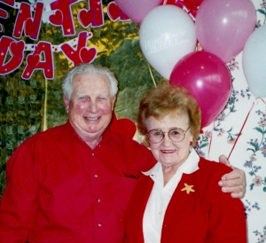 Mom & Dad on a Past Valentine's Day